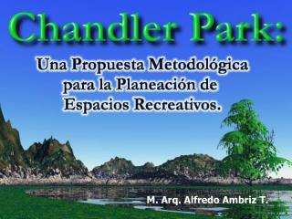 M. Arq. Alfredo Ambriz T.