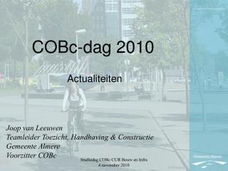 COBc-dag 2010