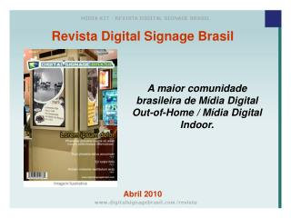 Revista Digital Signage Brasil Abril 2010