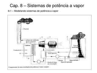 Cap. 8 � Sistemas de pot�ncia a vapor