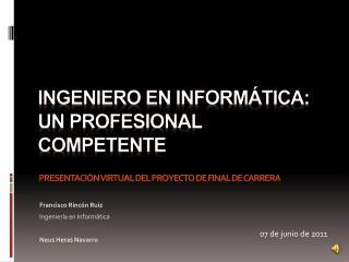 Ingeniero en Informática: Un profesional competente
