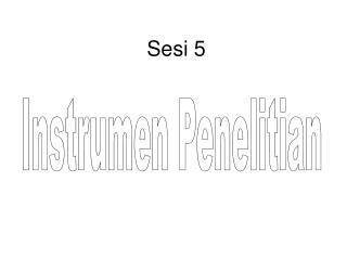 Sesi 5