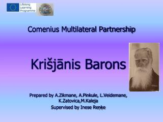 Comenius Multilateral Partnership