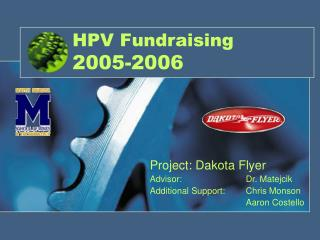 HPV Fundraising 2005-2006