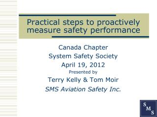 Practical steps to proactively measure safety performance