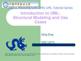 Introduction to UML: Structural Modeling and Use Cases