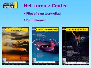 Het Lorentz Center