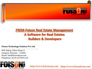 Real Estate Management Cloud Based Online Software Solution