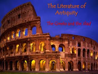 The Literature of Antiquity