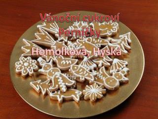 Vánoční cukroví Perníčky