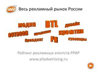 Весь рекламный рынок России