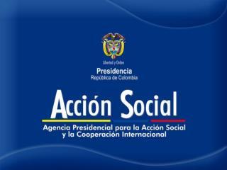 MISION DE ACCION SOCIAL 2010-2014