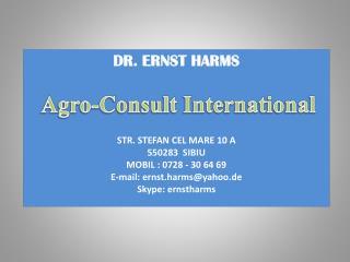 Cerinţele energetice si consum
