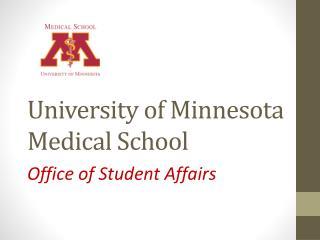 University of Minnesota Medical School