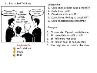 11. Bua  sa Seó Tallainne