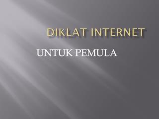 DIKLAT INTERNET