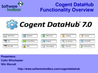 Cogent DataHub Functionality Overview