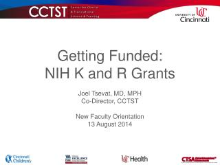 Getting Funded: NIH K and R Grants
