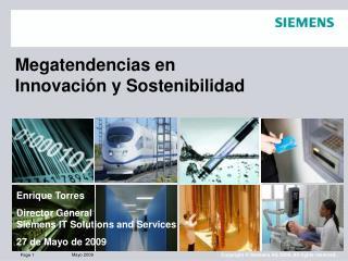 Megatendencias en Innovaci�n y Sostenibilidad