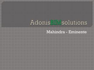 Adonis BIM solutions