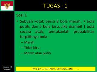 TUGAS - 1