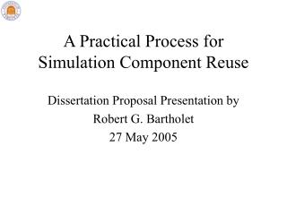 A Practical Process for Simulation Component Reuse