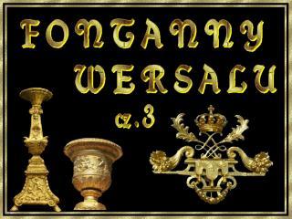 Fontanna Potrójna  1674 – 1675 r