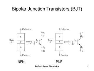 Bipolar Junction Transistors BJT