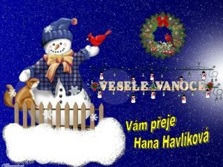 Vám přeje                Hana Havlíková