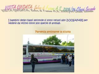 VISITA GUIDATA: Selva di Fasano A.S. 2005/06 Classi Seconde