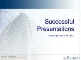 Successful Presentations