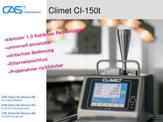 Climet CI-150t