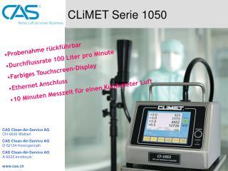 CLiMET Serie 1050