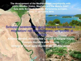 Sviluppo sostenibile, governance territoriale e migrazioni nel Mediterraneo: un'ipotesi di lavoro