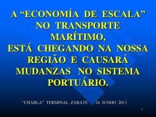"""CHARLA""  TERMINAL  ZARATE       24  JUNHO  2011"
