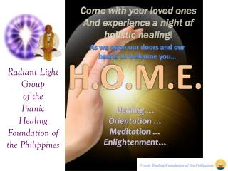 Radiant Light Group of the Pranic Healing Foundation of the Philippines