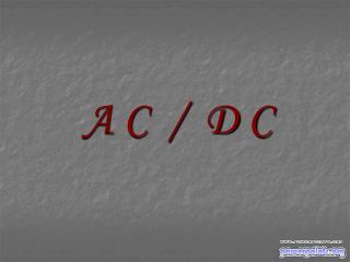 A C  /  D C