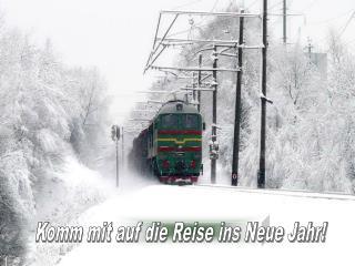 Komm mit auf die Reise ins Neue Jahr!