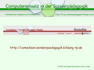 comedison.sonderpaedagogik.bildung-rp.de
