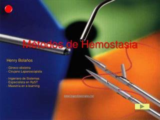 Métodos de Hemostasia