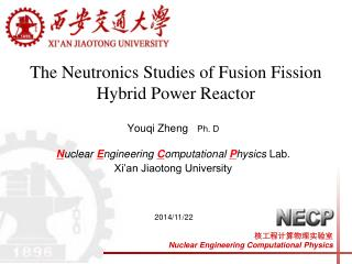 The Neutronics Studies of Fusion Fission Hybrid Power Reactor