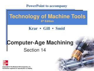 Computer-Age Machining