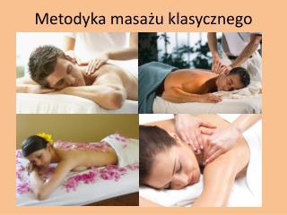 Metodyka masażu klasycznego