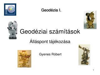 Geodéziai számítások