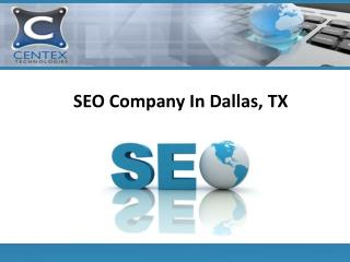 SEO Company In Dallas, TX