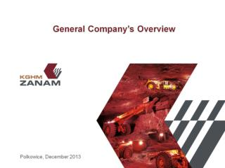 General Company�s Overview