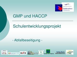 GMP und HACCP  Schulentwicklungsprojekt