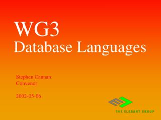 WG3 Database Languages