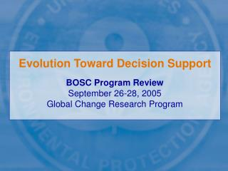 Evolution Toward Decision Support