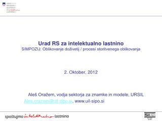 2. Oktober, 2012